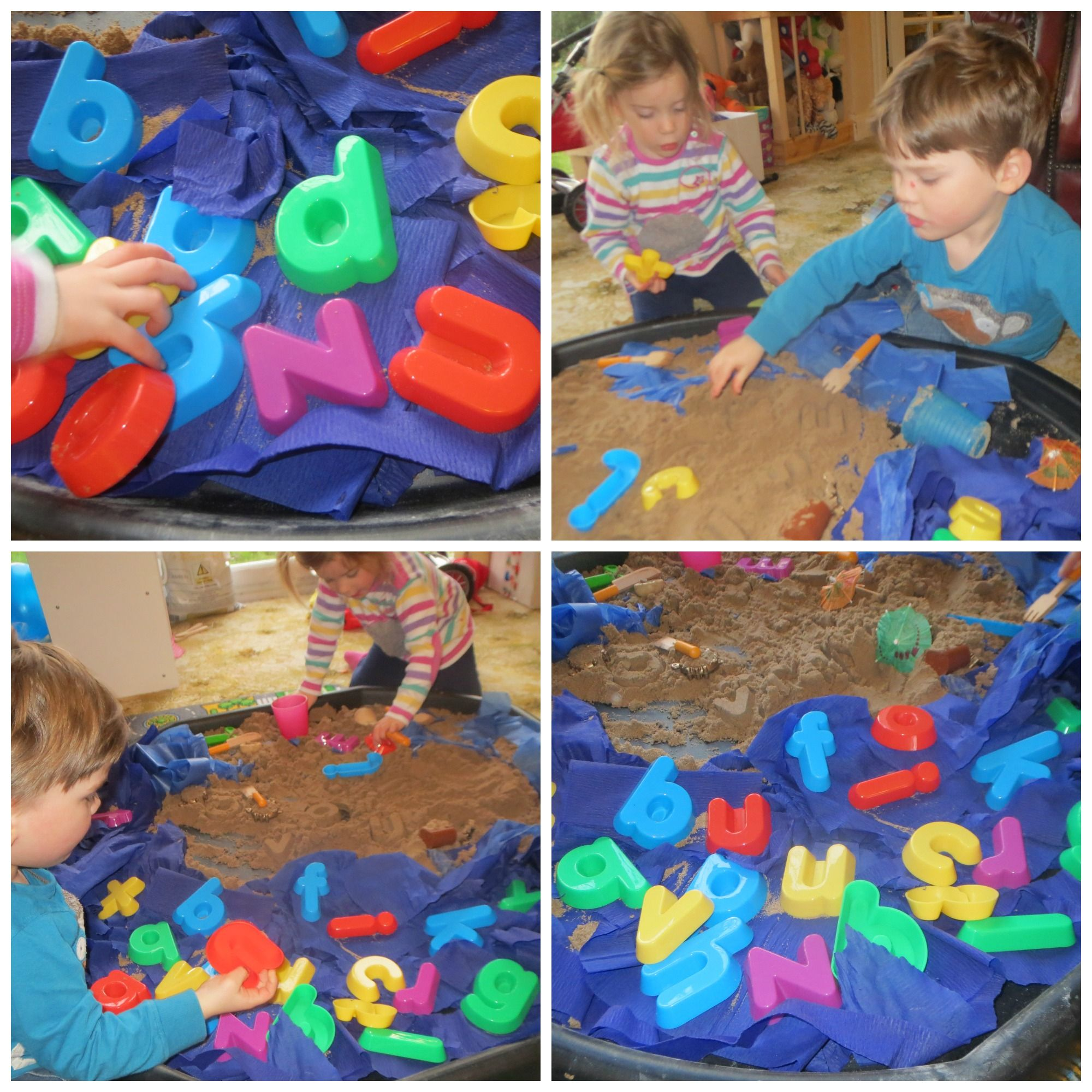 Messy Play Love Letters in the Sand Messy play, Sand