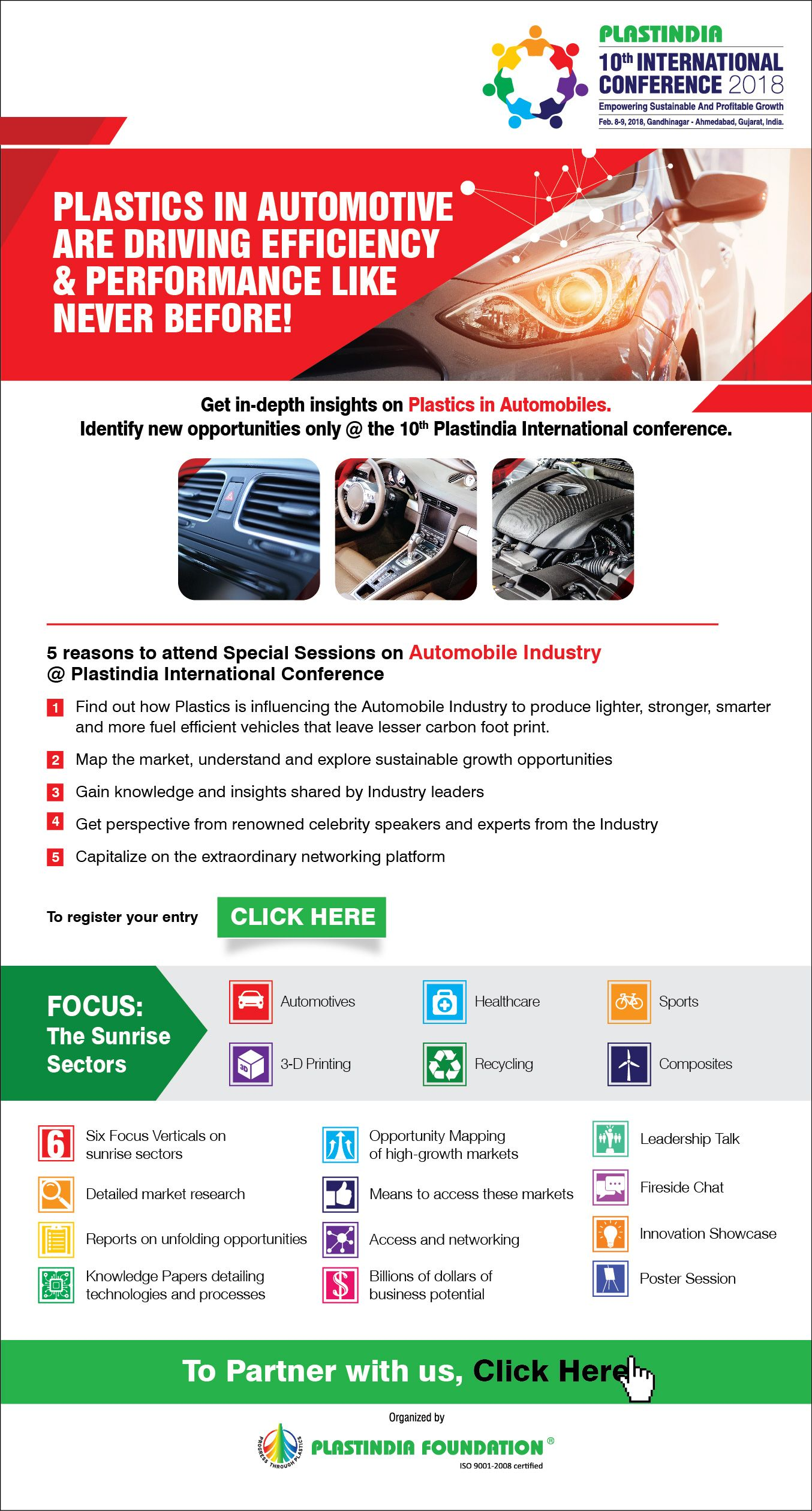 Attend Special Sessions on Plastics In Automobiles only at