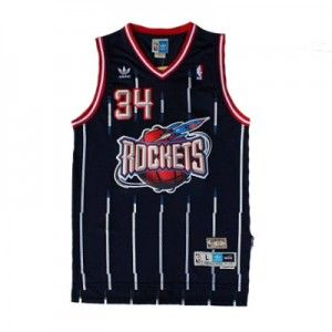 lowest price 81618 91673 official store adidas nba houston rockets 34 hakeem olajuwon ...