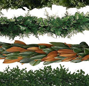 Bulk Christmas Garland.Salal Eucalyptus Evergreen Garland Flowers In 2019