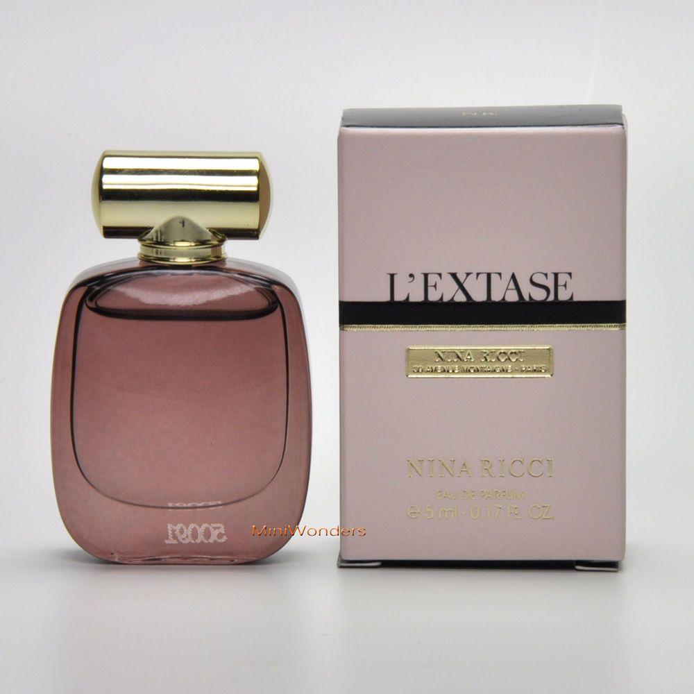 1226c2ebca Mini Perfume Nina Ricci L EXTASE Eau de Parfum Ml 0.17 Oz Miniature ...