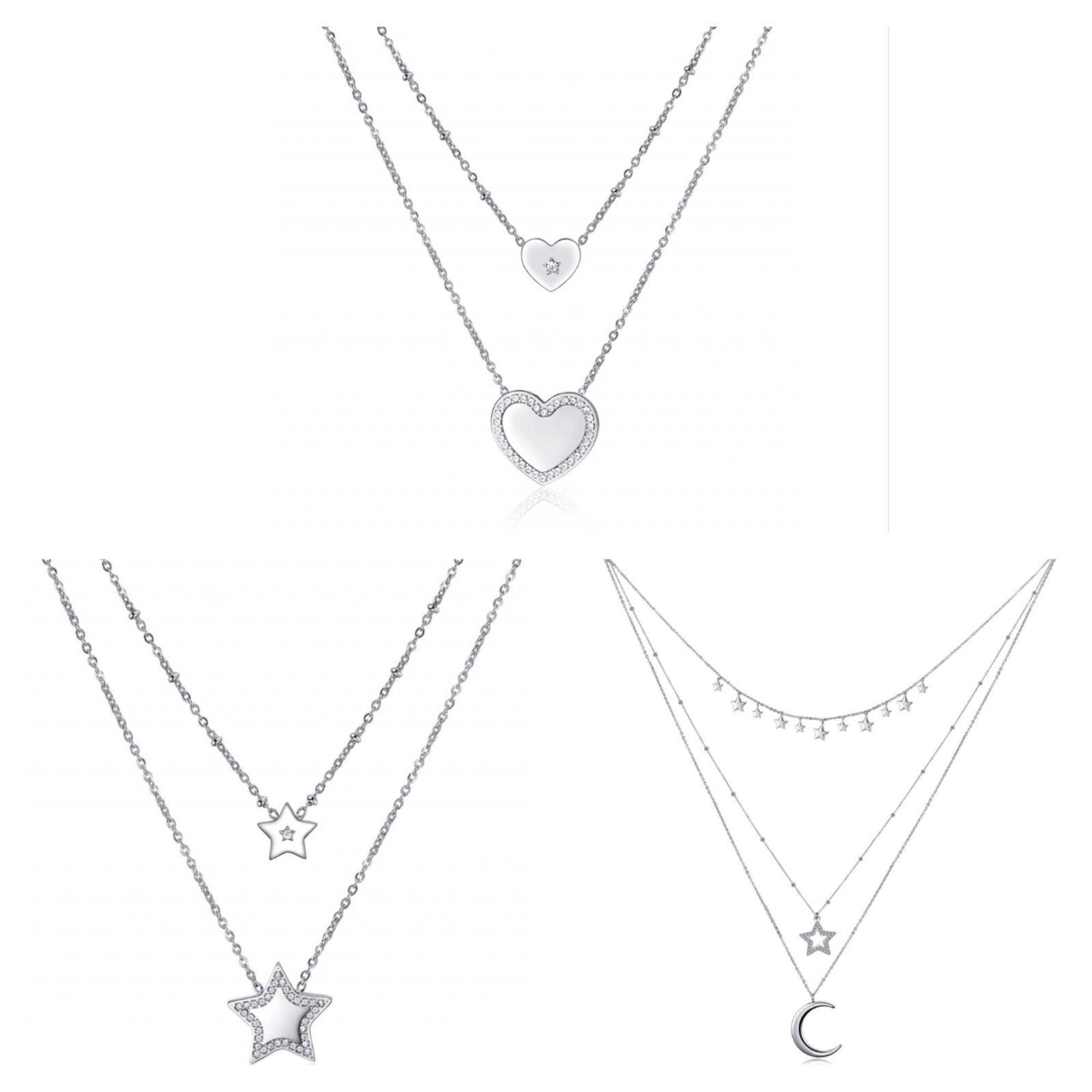 4d6f8d2311350f Collane Sagapò. Scegli il tuo modello per San Valentino. #collana #heart #