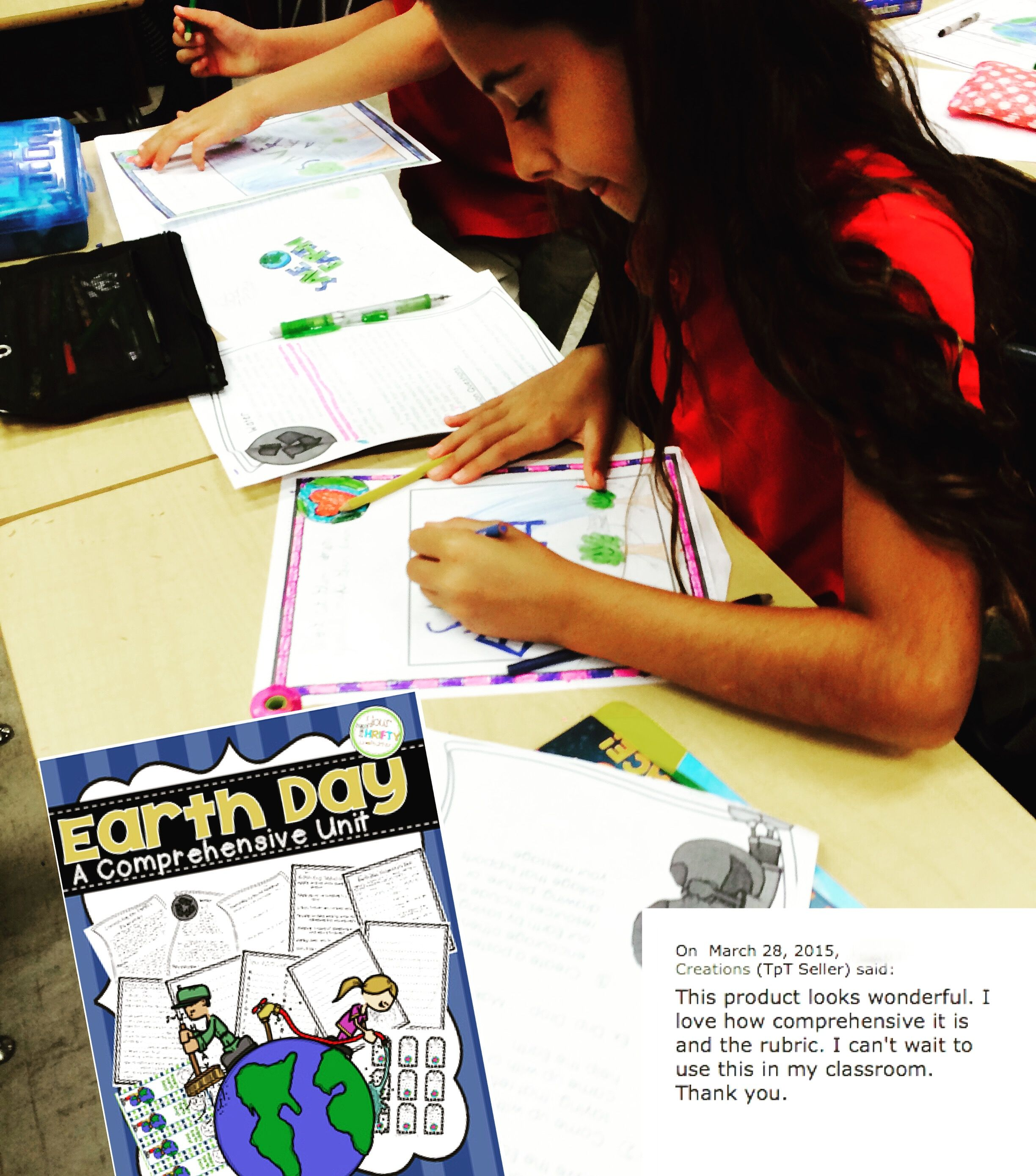 Earth Day Comprehensive Unit Reading Passage Project