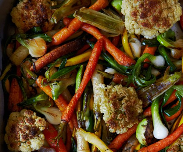 Confit of Vegetables is a warm delicious dish for a winter day. Diane (DeAnna) Johnson author of A TUSCAN TABLE The Secrets of Three Generations of Tuscan Family Cooking.