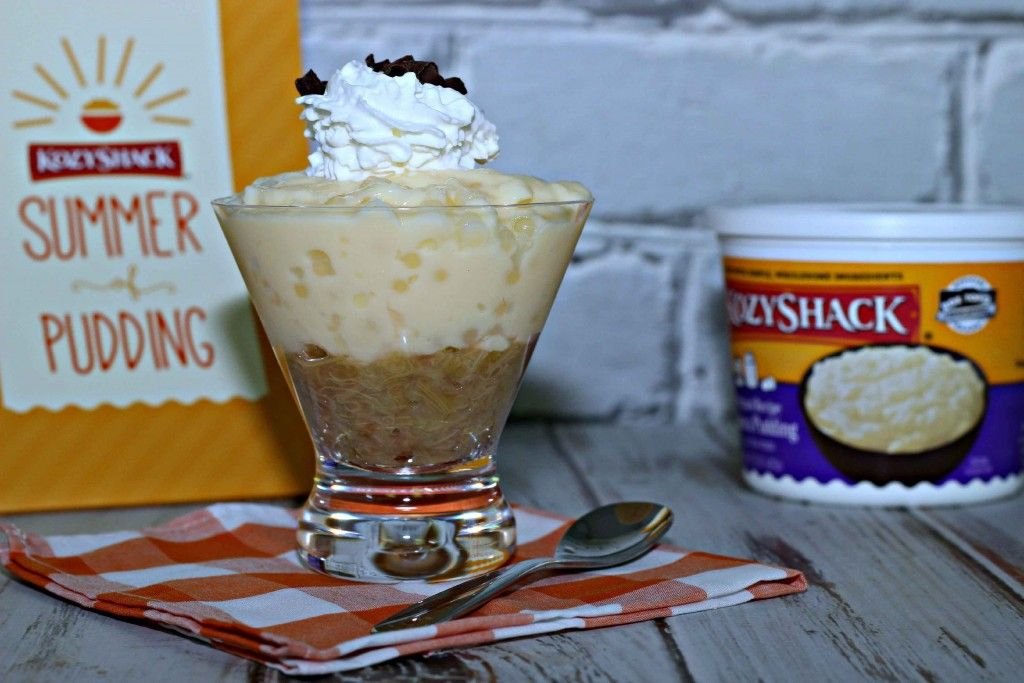 Tapioca Pudding with Rhubarb is my #SummerofPudding memory how about yours