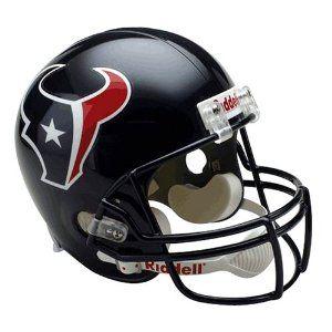 NFL Houston Texans Deluxe Replica Football Helmet  00b2eadb4