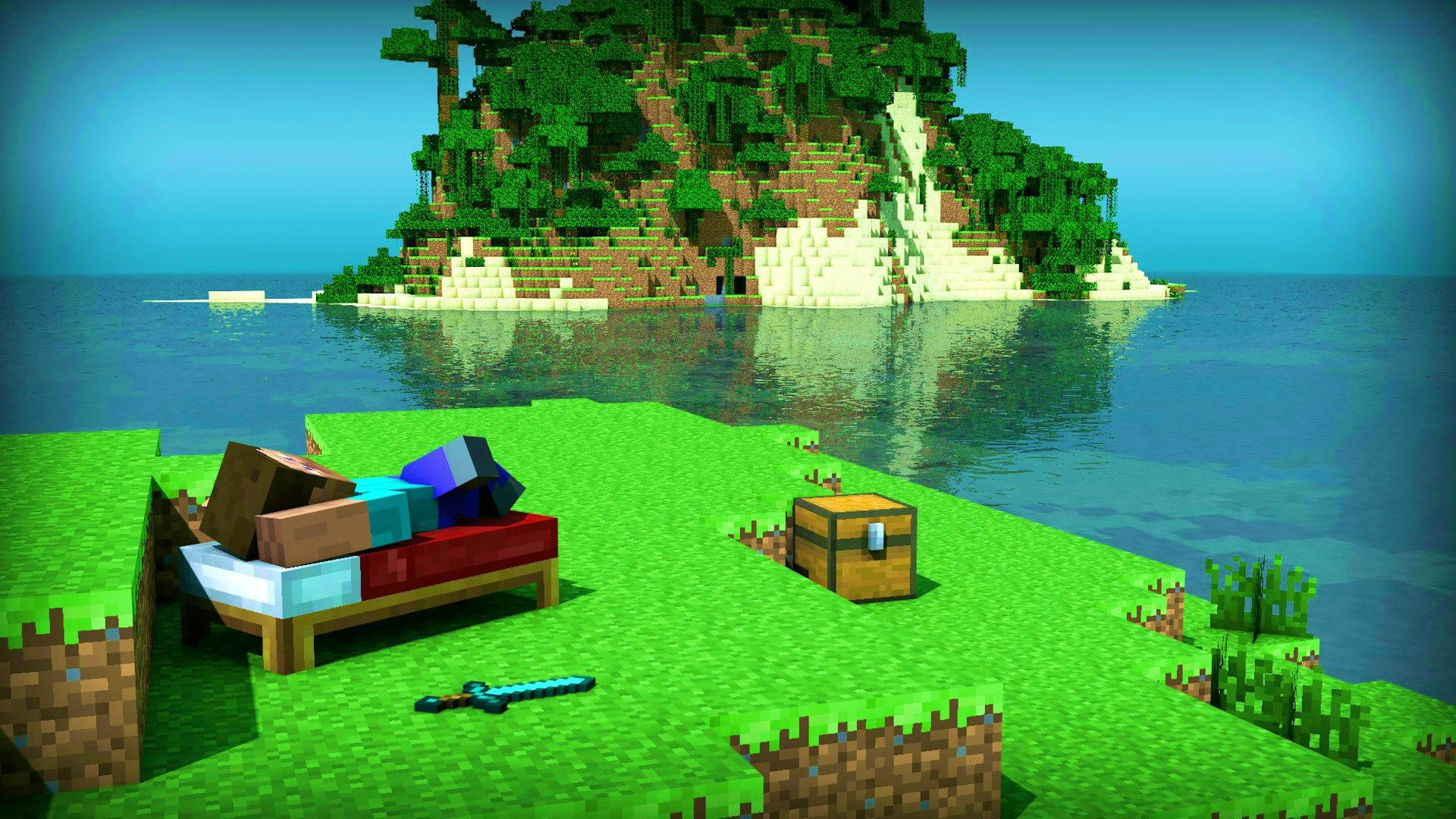 Marvelous Design Ideas Minecraft Backgrounds 1920x1080