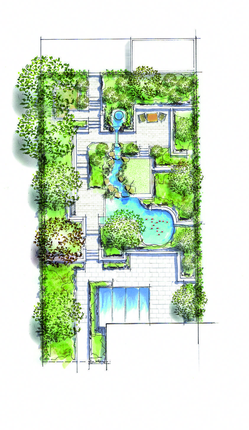 Green Roofs And Great Savings Landscape Design Drawings Roof Garden Design Garden Design Plans