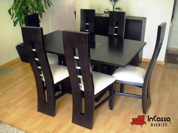 Antecomedor modelo cordoba incassa muebles fabricante for Modelos comedores