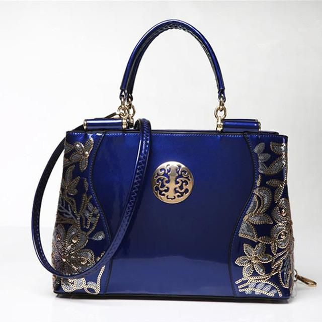 d747a5a890e1 Women handbag brand shoulder bag luxury fashion tote Clutch Sequins design