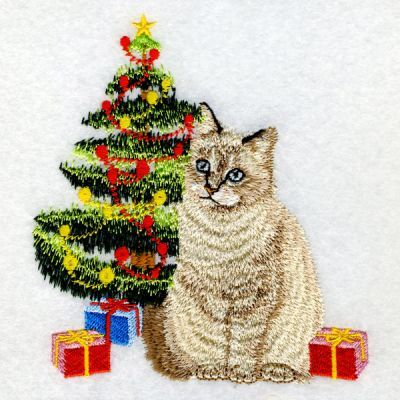 Christmas Cats Ace Points Machine Embroidery Cat Machine Embroidery Designs Machine Embroidery Projects
