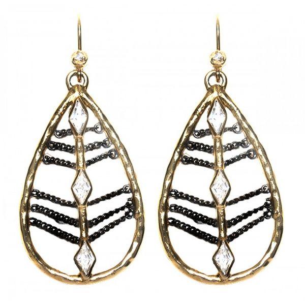 Melinda Maria Drop Earrings | Be Jeweled | Pinterest ...