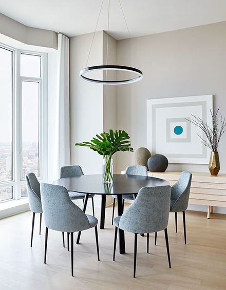 Room · ASH NYC | Staging · Modern Dining ...