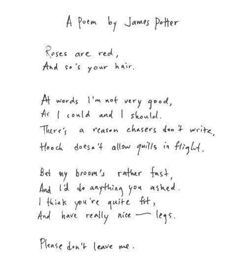 A poem from James to Lily :) LOVE!!   Things I Love   Pinterest ...