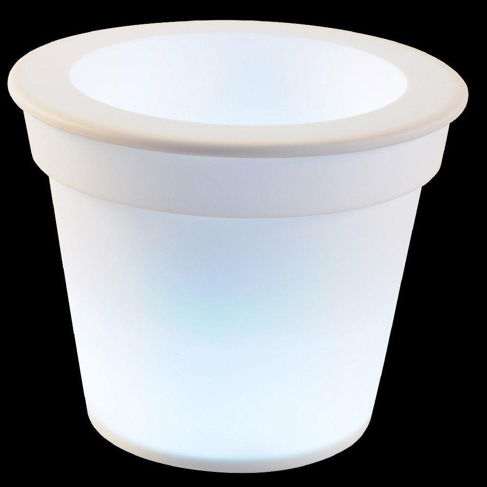 Pot Jardiniere Et Bac A Fleur Gifi Pot Lumineux Pots Bac A Fleurs