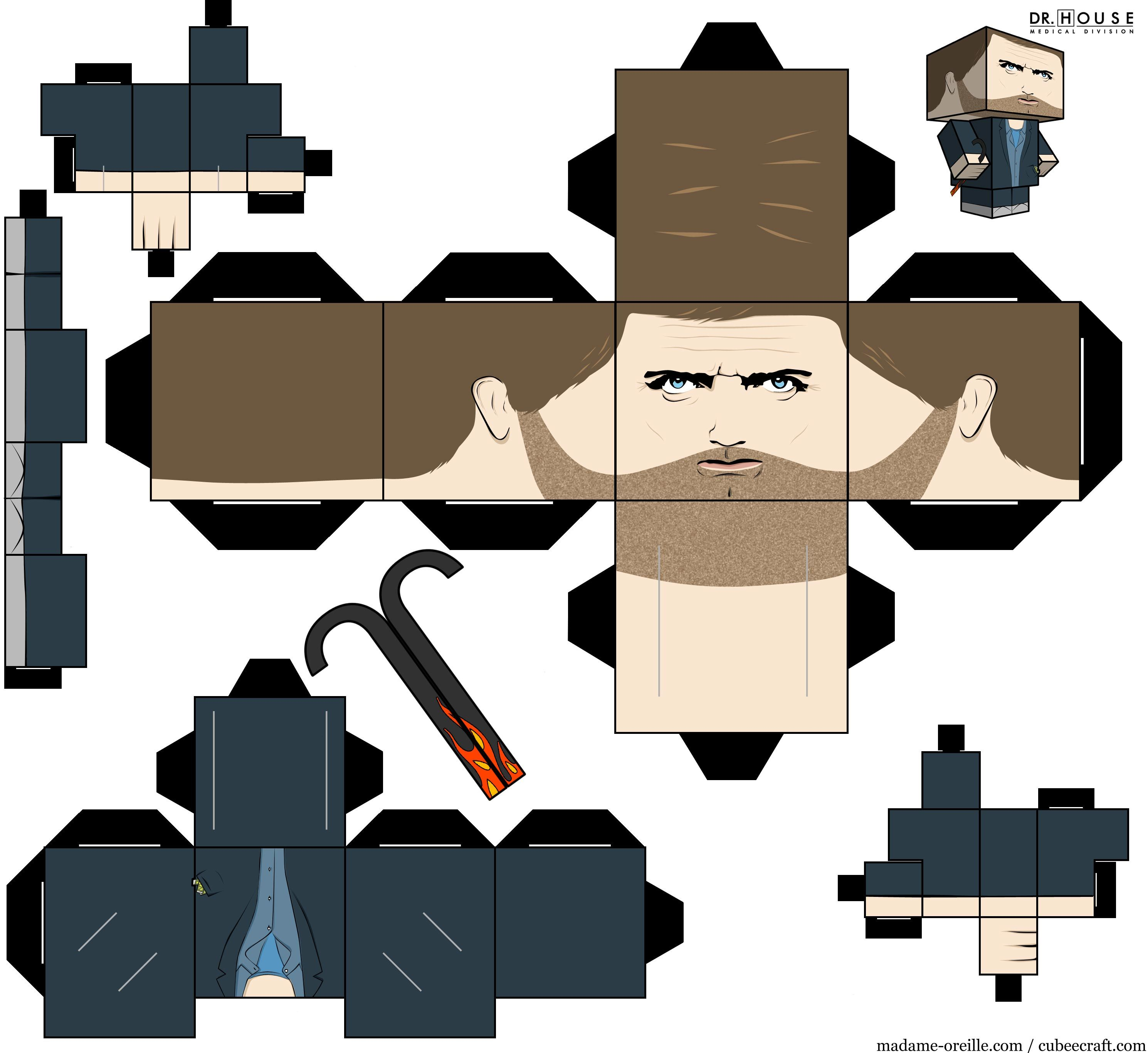 Image Detail For House Paper Toy By MadameOreille On DeviantART