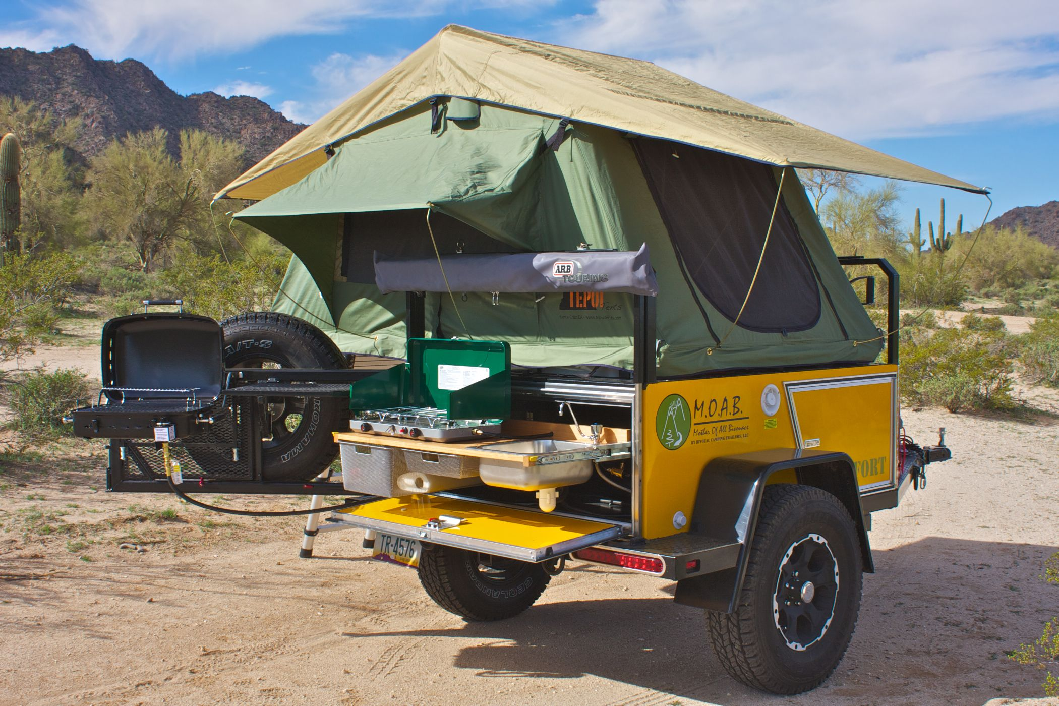 Off Road Camping Trailers