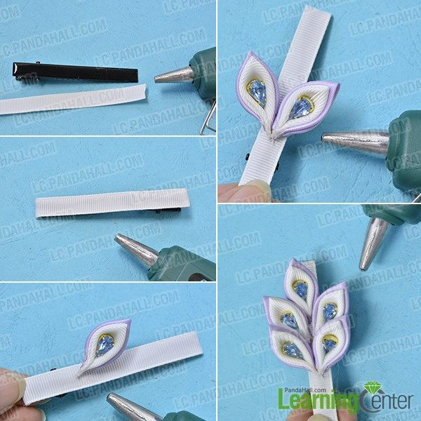 Love fashion ribbon flower hair clips? Then today's tutorial on how to make ribbon hair clips may deserves your time to see. #ribbonflower