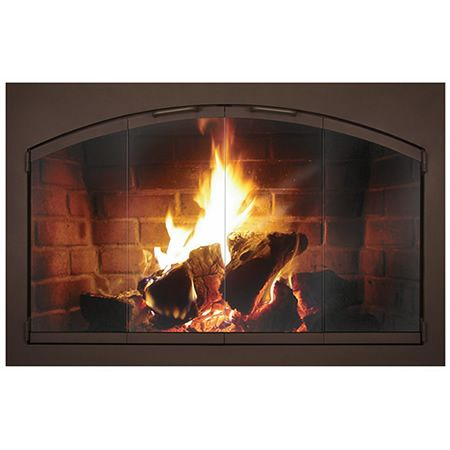Rectangular Heritage Arched Fireplace Glass Door Learnshopenjoy