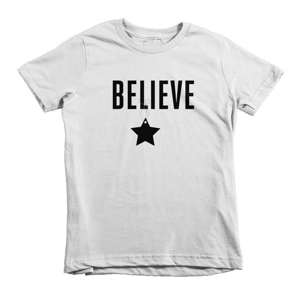 Believe Short sleeve kids t-shirt