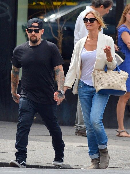 cameron-diaz-and-benji got married | Celebrities ...