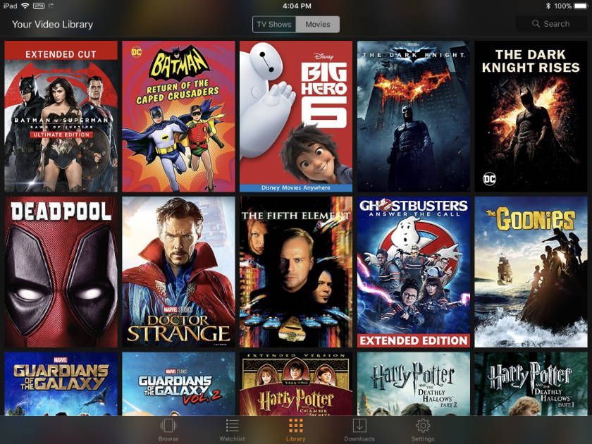 7 Ways to Watch Your Movies Anywhere Collection Movies