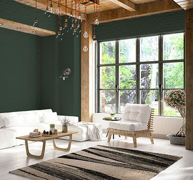 Dard Hunter Green by Sherwin Williams. | Green painted