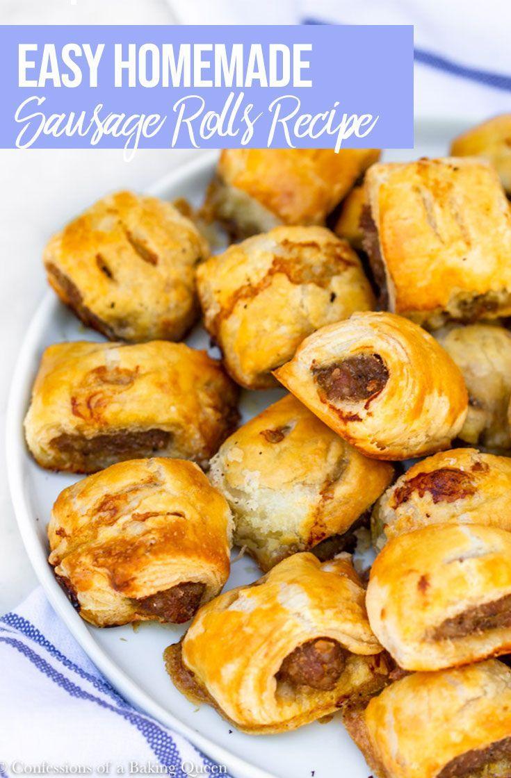 English Sausage Rolls #porksausages