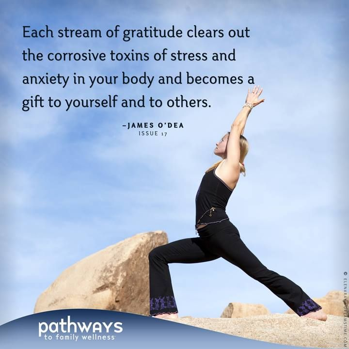 Share the gift of Gratitude this New Year! Gratitude, by James O'Dea, from Pathways to Family Wellness Issue # 17