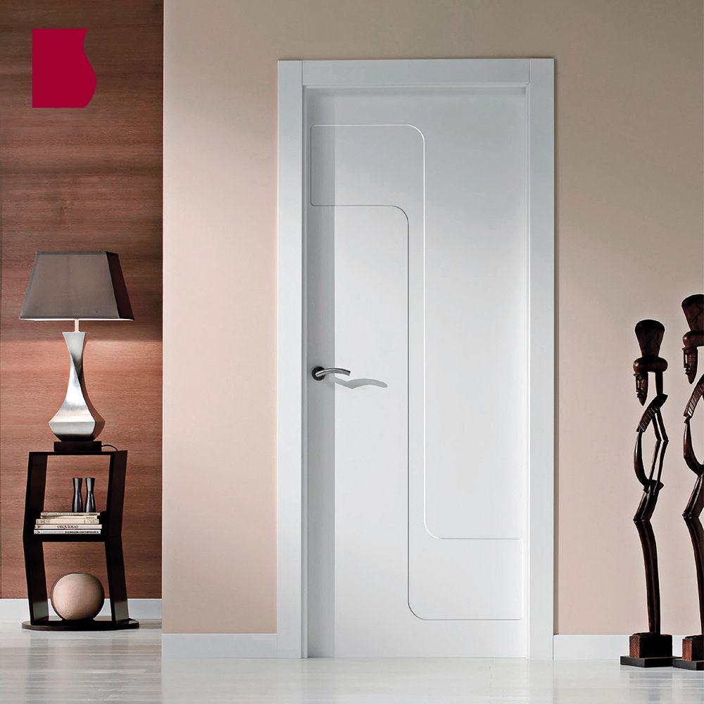 AMBIENTE Modelo 902/ LACADA BLANCA / Colección Lacada / Puertas de interior Sanrafael