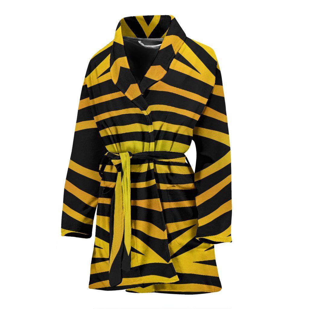 Tiger Print Womens Bath Robe #tigers #bees #bathrobes   Amazing ...