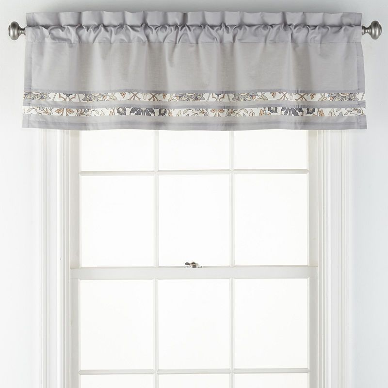 Jcpenney Home Marion Rod Pocket Tailored Valance Valance Home Home Decor #tailored #valances #for #living #room