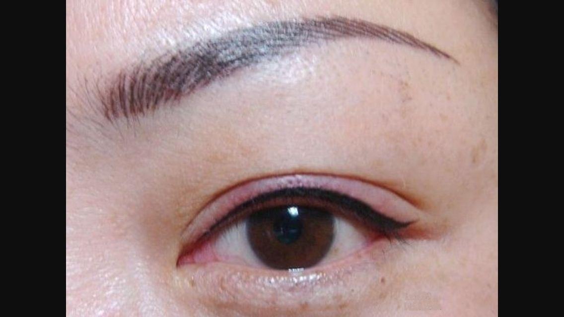 Eyeliner permanent makeup eyebrow tattoo eyebrows