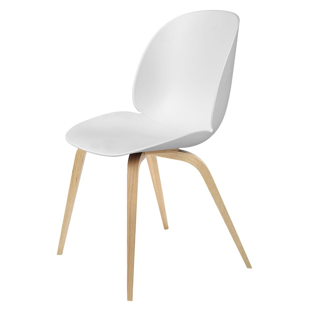 Gubi Unupholstered Dining Chair With Wood Base Beetle Chair Gubi Beetle Chair Gubi Beetle Dining Chair