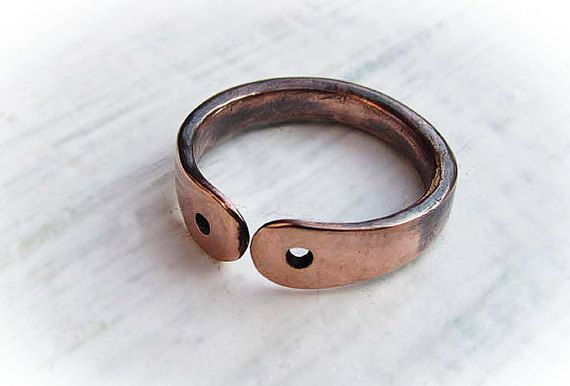 rings Copper copper braclets and thumb