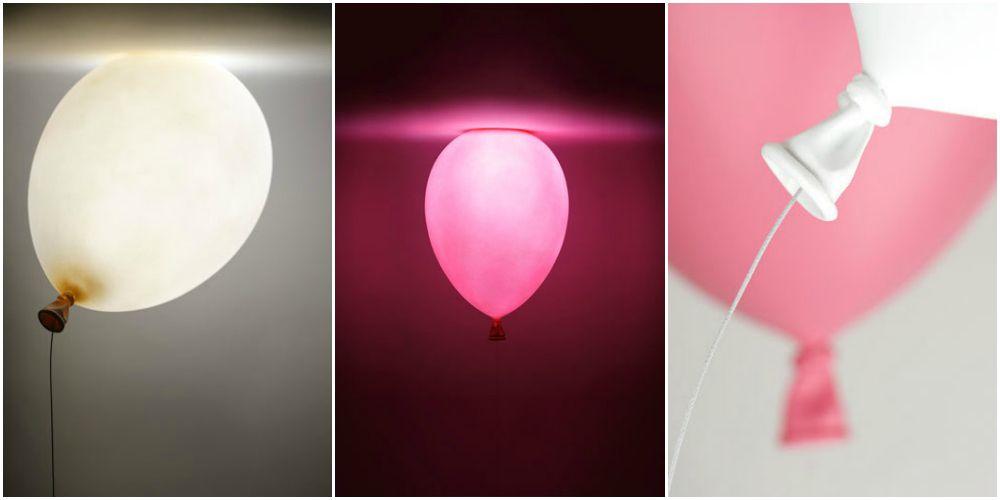 lámpara de techo infantil con forma de globo-lámparas de techo ...