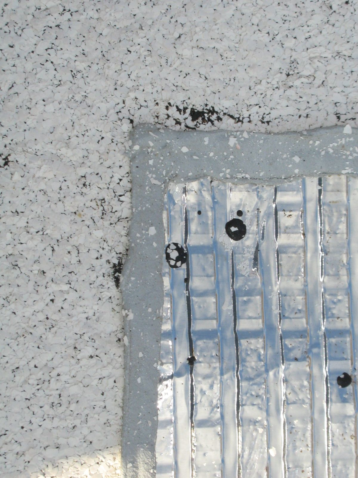 Reflective Granules On A High Albedo Cap Sheet Direct Solar Heat Away From The Roof Cool Roof Solar Heating Sustainable Design