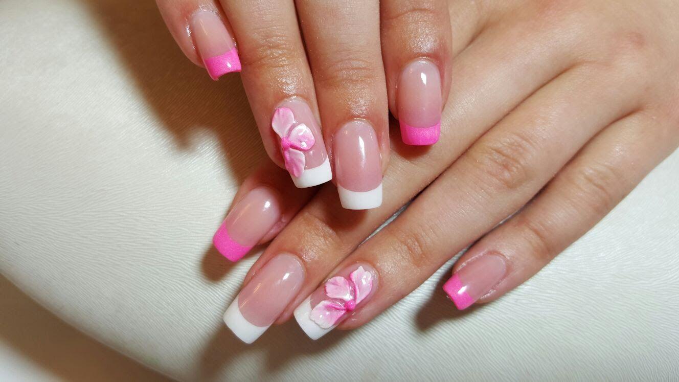 Schöne Baby Pink Acryl Sarg Nägel - 10 beeindruckende