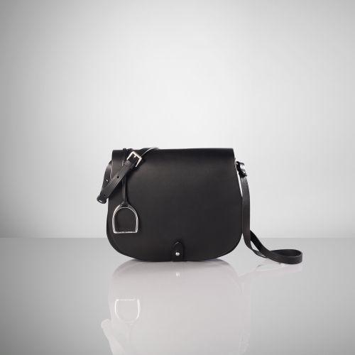 Ralph Lauren Equestrian Vachetta Saddle Bag   Purses please ... c077af1630