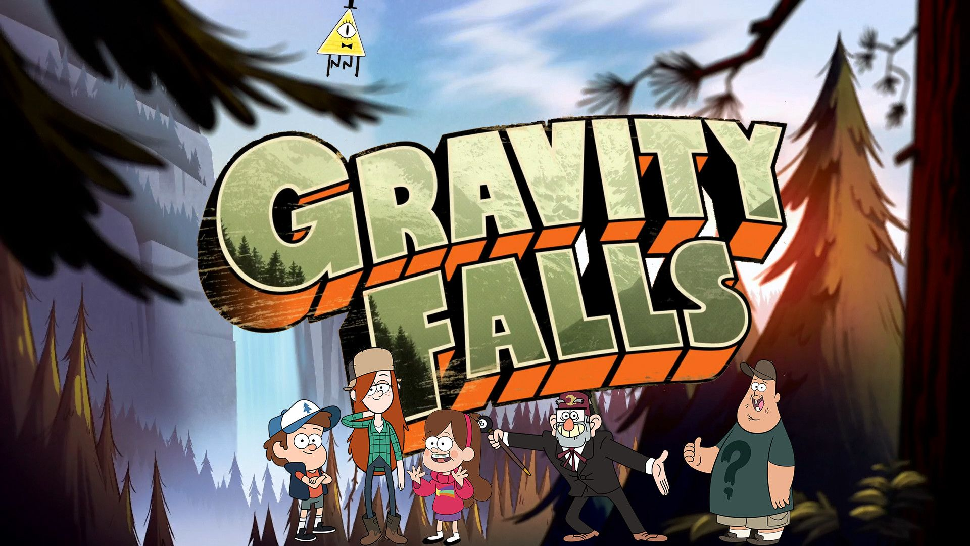Gravity Falls Collection See All Wallpapers Wallpapers Background Cartoon In 2020 Fall Wallpaper Gravity Falls Fall Background