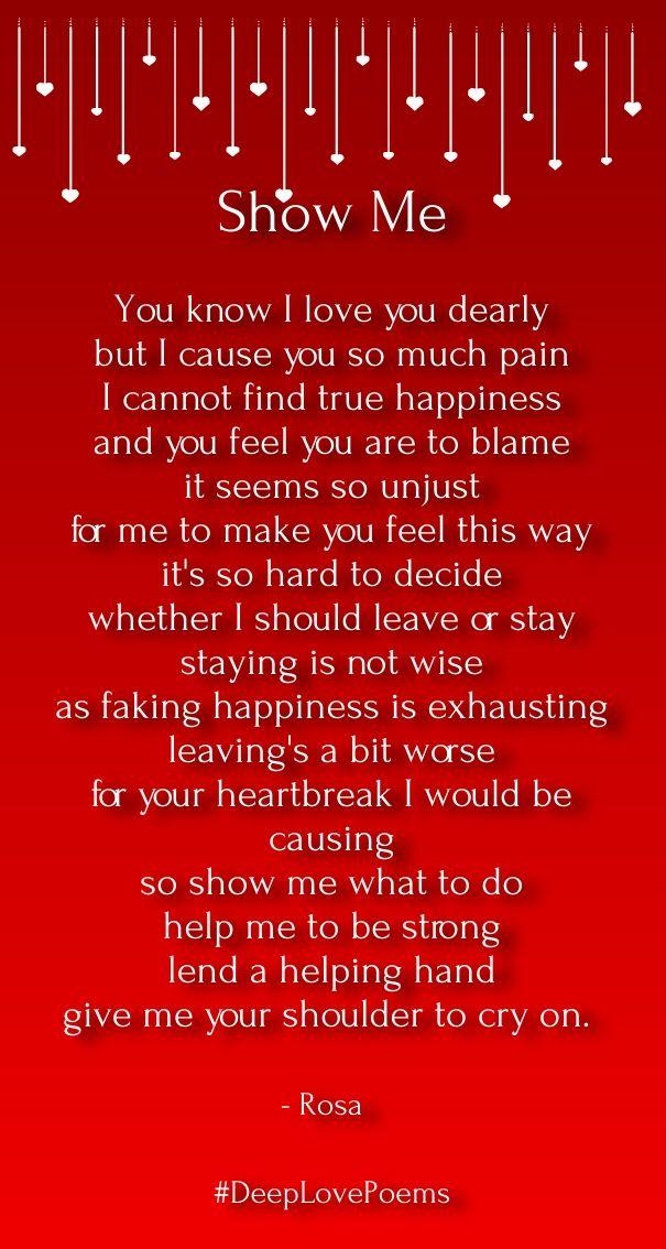 Long Deep Love Poems For Him