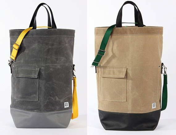 Chester Wallace Waxed Canvas Tote Bags | Grocery store, Bags and ...