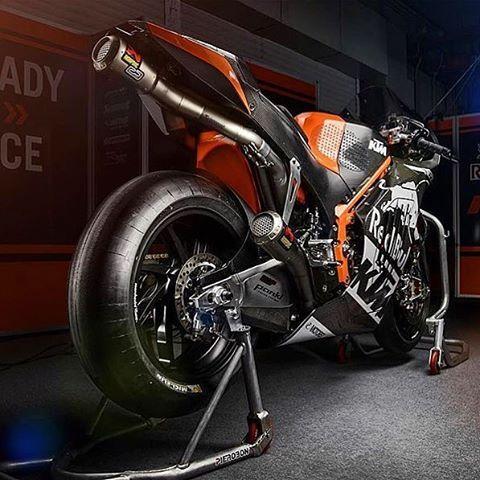 WEBSTA @ pistonaddictz - KTM Moto GP bike 🏁@iammrshit #PistonAddictz