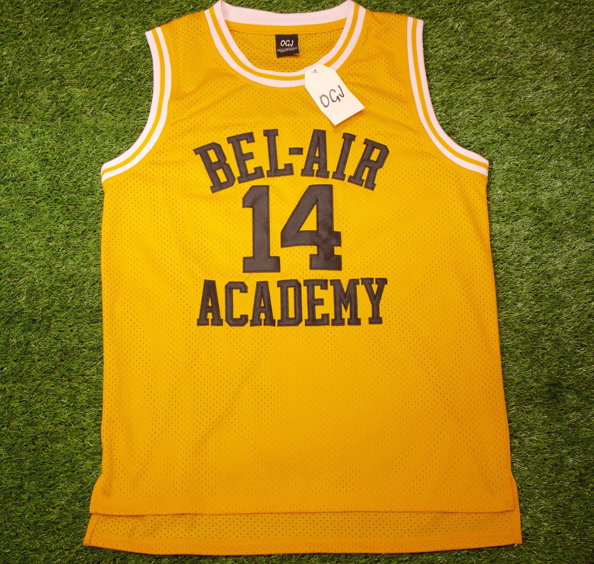 14 The Fresh Prince of Bel-Air Will Smith Bel-Air Academy Basketball Jersey  (3 colors) b53ffb2e8