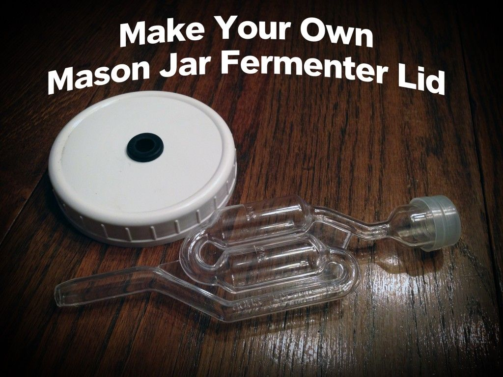 make your own mason jar airlock lid gf sugar paleo make your own mason jar airlock lid