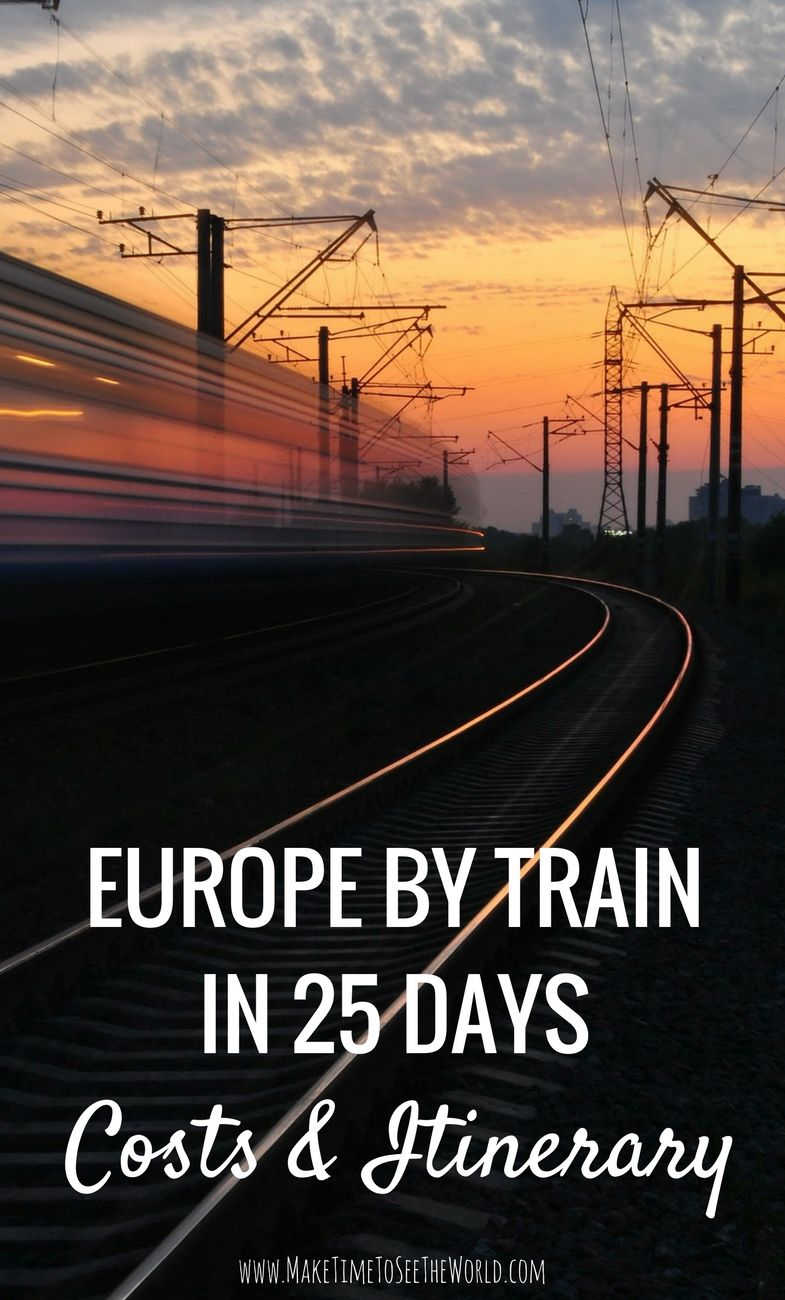 , Europe By Rail in 25 Days: Itinerary & Costs, My Travels Blog 2020, My Travels Blog 2020