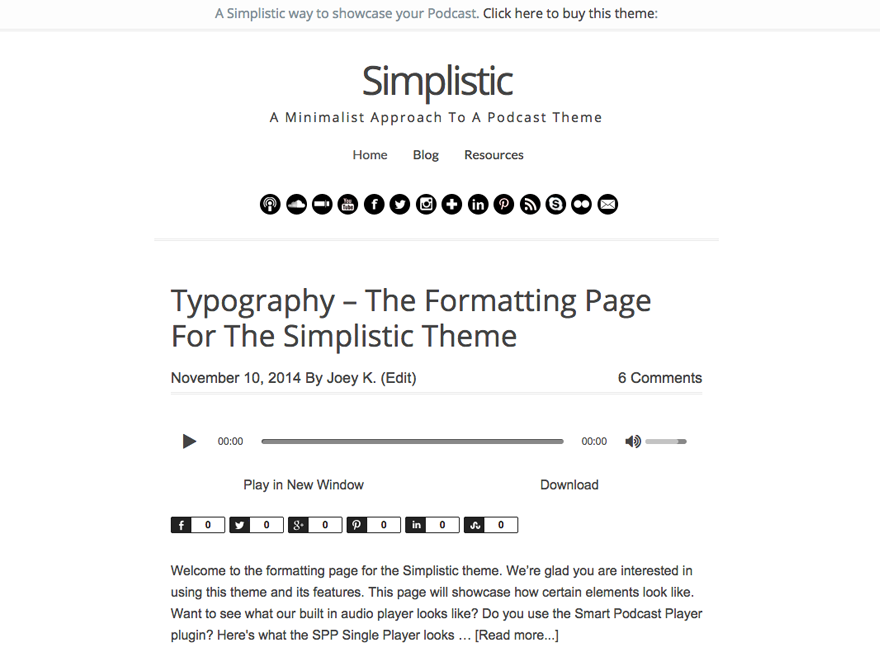Simplistic Is A Minimalism Type Of Theme More Suited For The