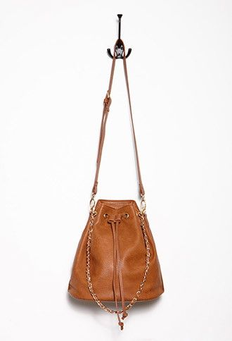 Faux Leather Bucket Bag CAD $29.90