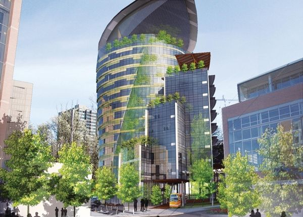 Oregon Sustainability Center. Portland, Oregon. Living Building Challenge.