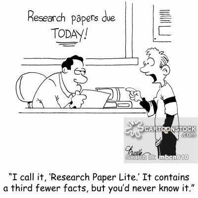 I call it u0027Research Paper Liteu0027 It contains a third fewer facts - what is a research paper